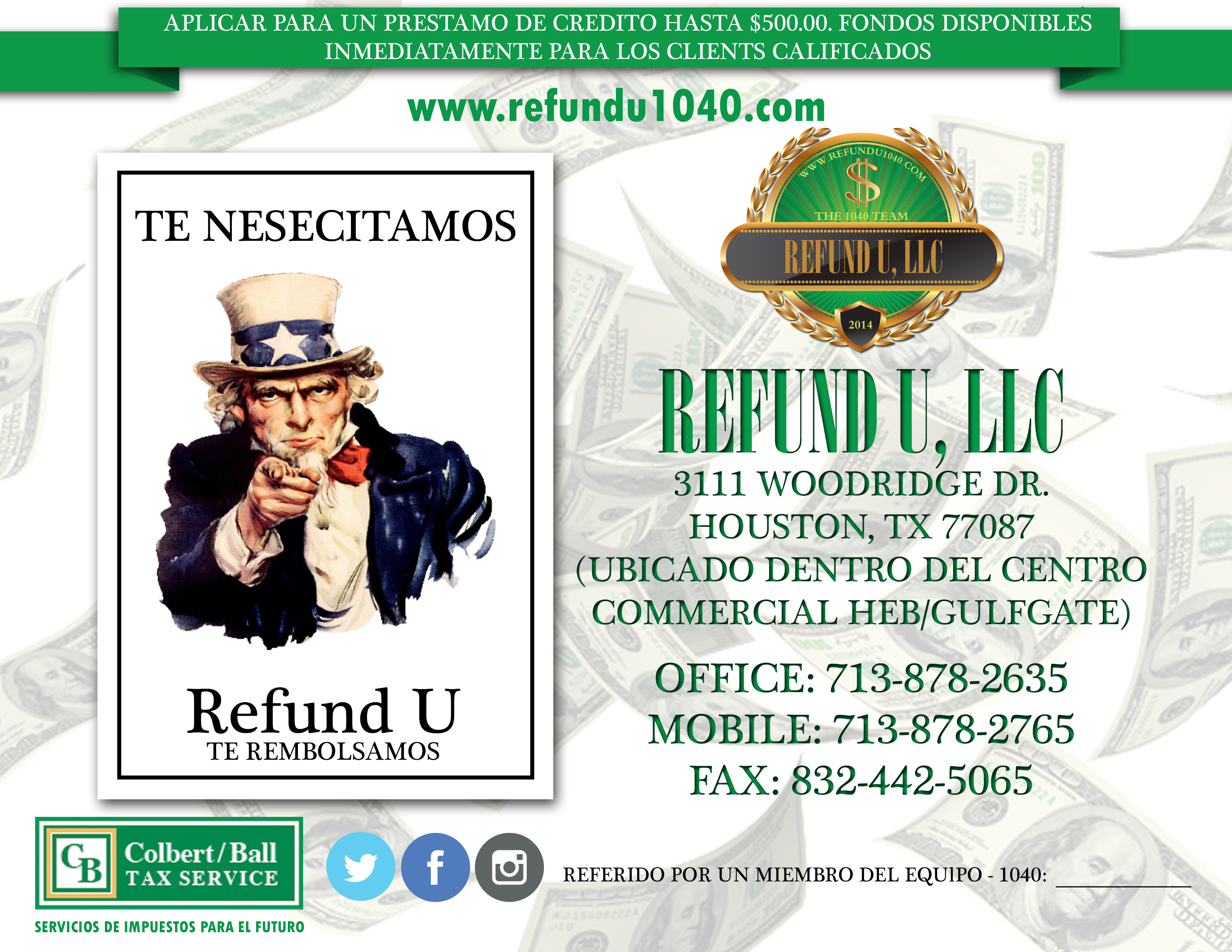 refundU-flyer