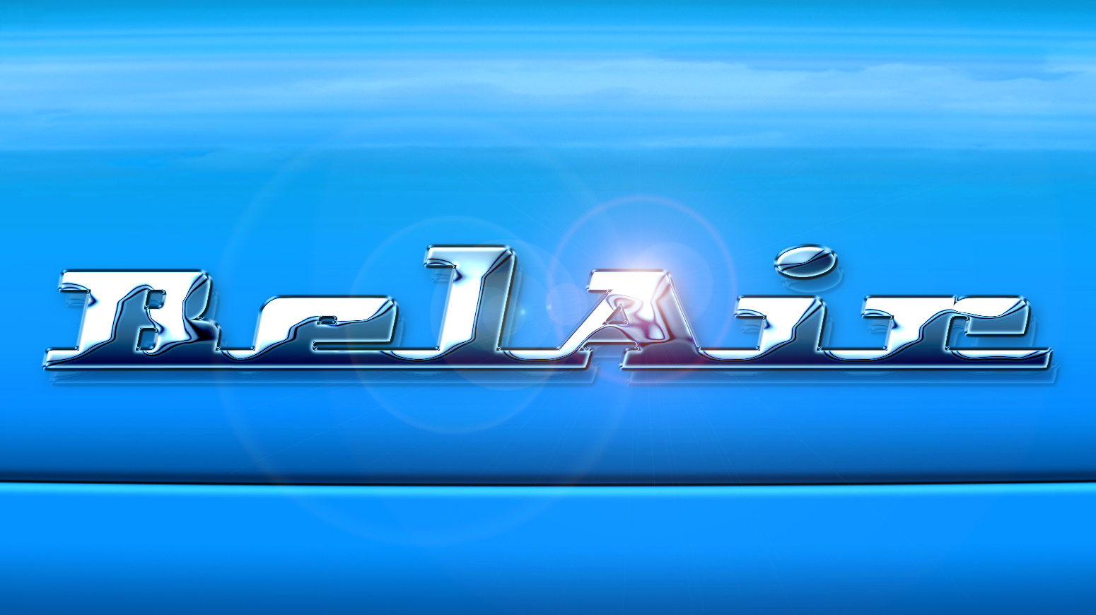 chrome automobile logo