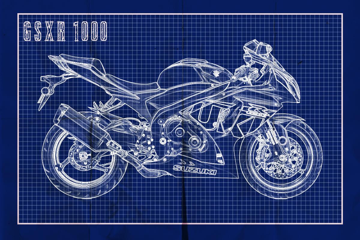 GSXR 1000 blueprint