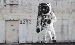 banksy astronaut