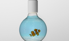 clownfish lightbulb