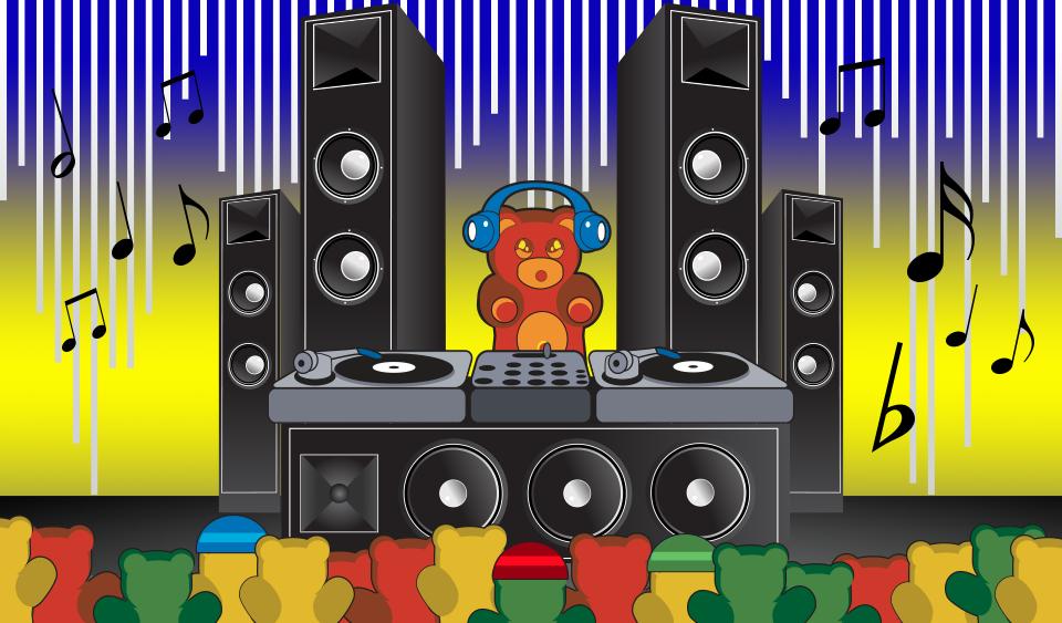 gummy-bear-concert