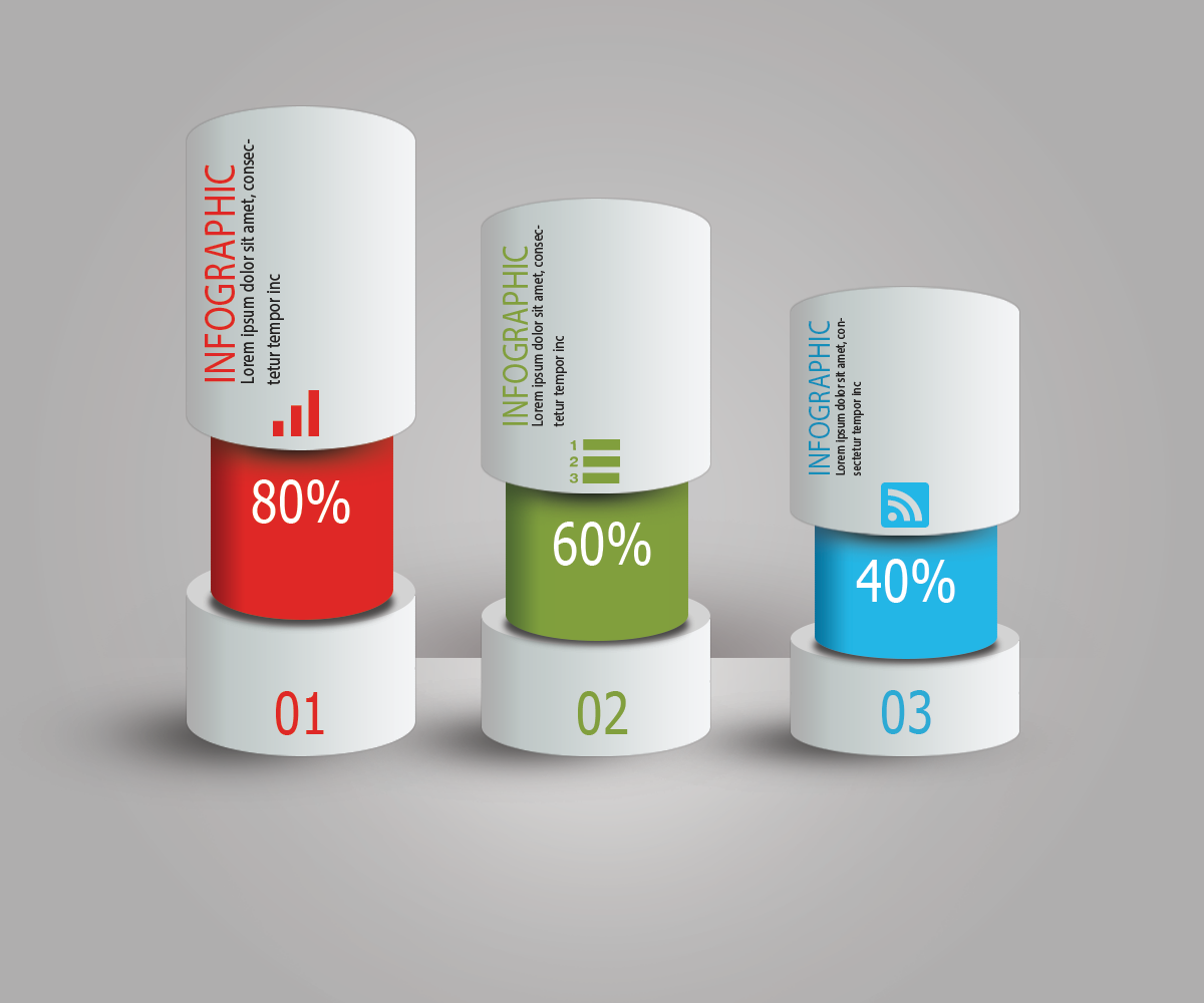 infographic cylinder