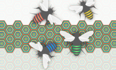 bees-vector