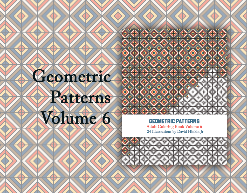 geometric patterns volume 6