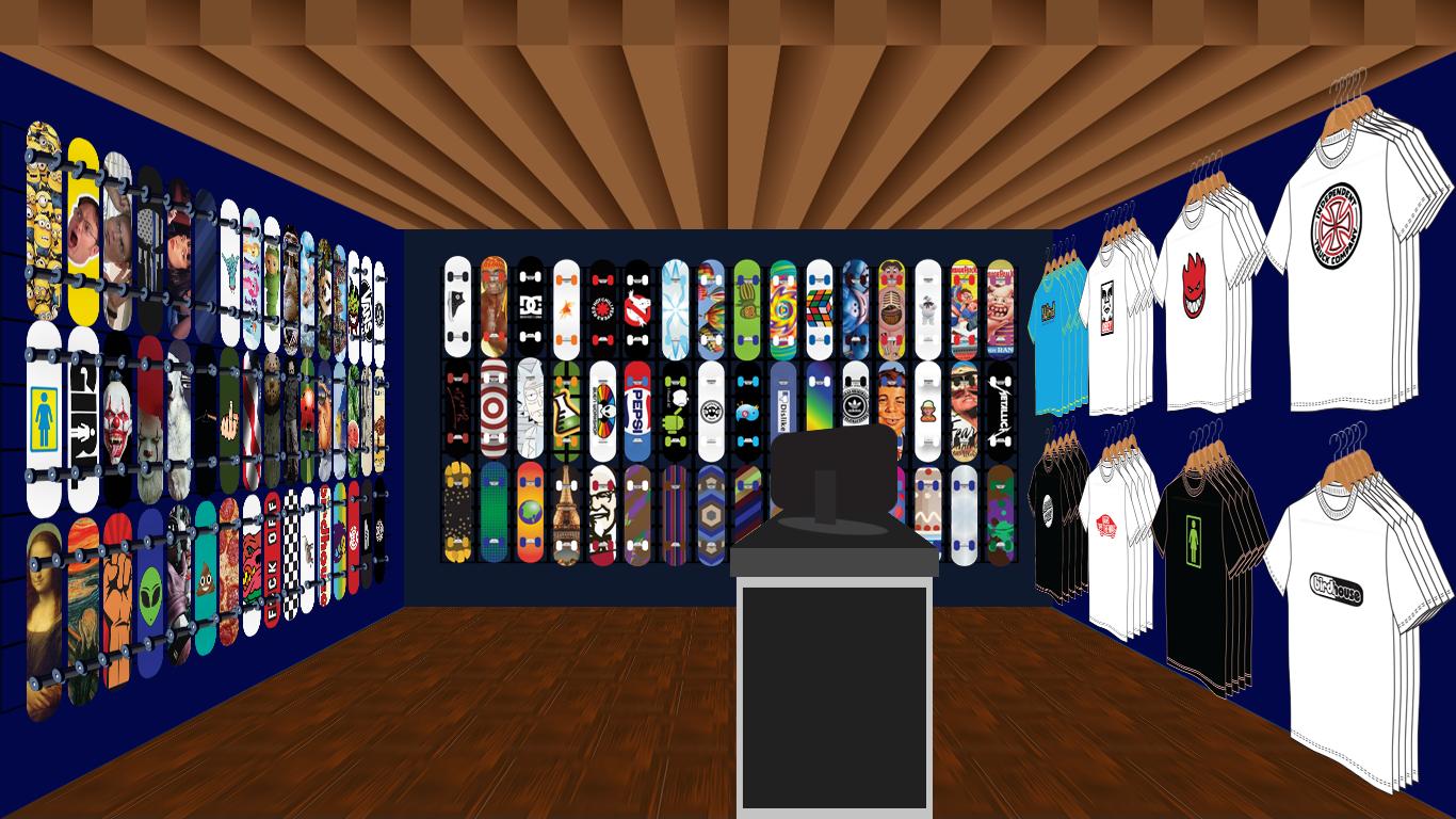 skate shop interior dhinkin.com